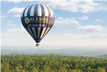 attractions in orlando, hot air balloon rides