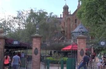 haunted mansion liberty square disney world