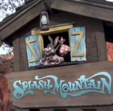 splash mountain frontierland disney world