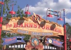 the barnstormer fantasyland disney world