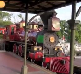 walt disney railroad magic kingdom