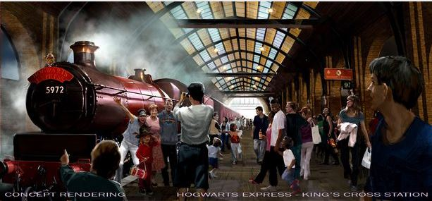 harry potter in universal studios