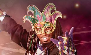 Universal Orlando, Mardi Gras, Feb 8 - May 31