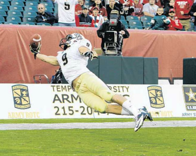 one hand catch by jj worton of ucf knights