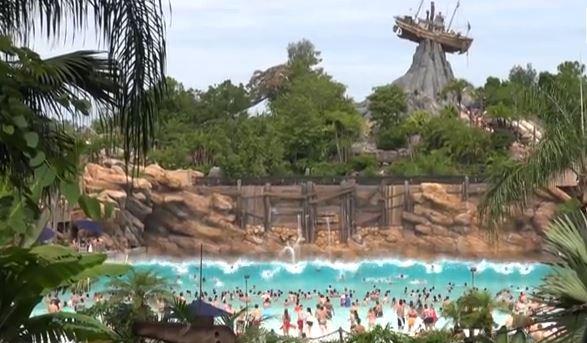 TYPHOON LAGOON Disney World Florida water park wave pool