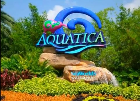 aquatica at seaworld orlando welcome sign