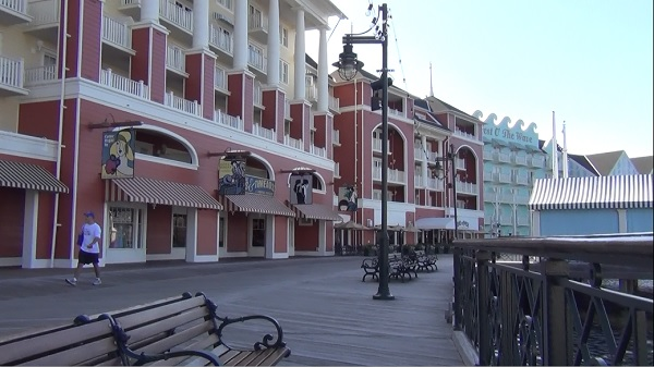 Disney's Boardwalk for fine and casual dining and entertainment