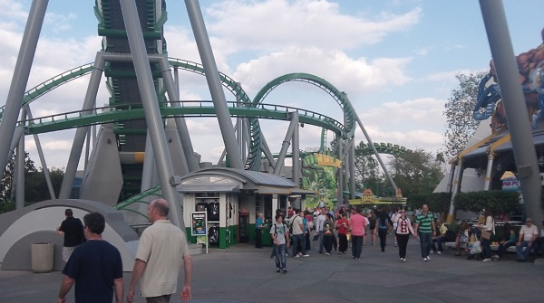 The Incredible Hulk at Islands of Adventure, Universal Orlando