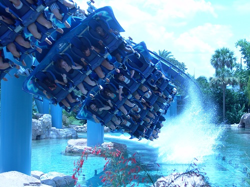 seaworld manta stage four