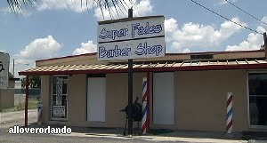 pine hills barber shop had stripper pole