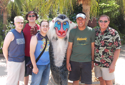 Gay Days all over Orlando