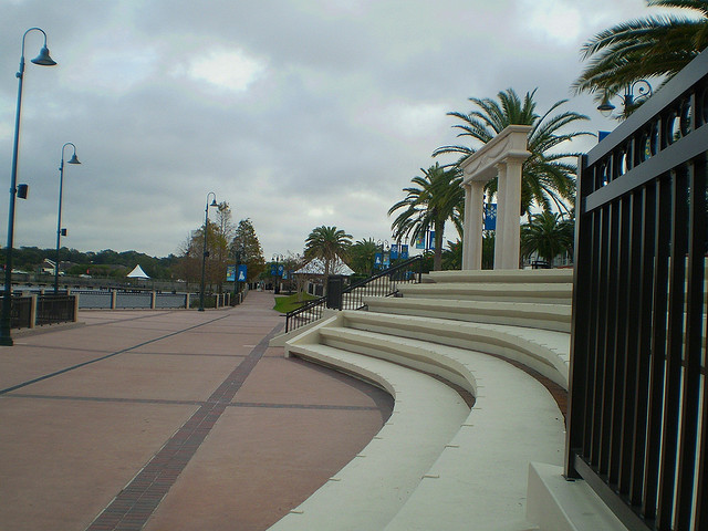 Entertainment area of Cranes Roost