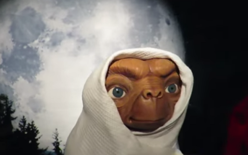 et wax figure