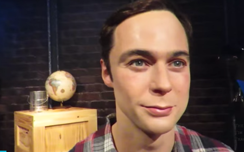 jim parsons wax figure