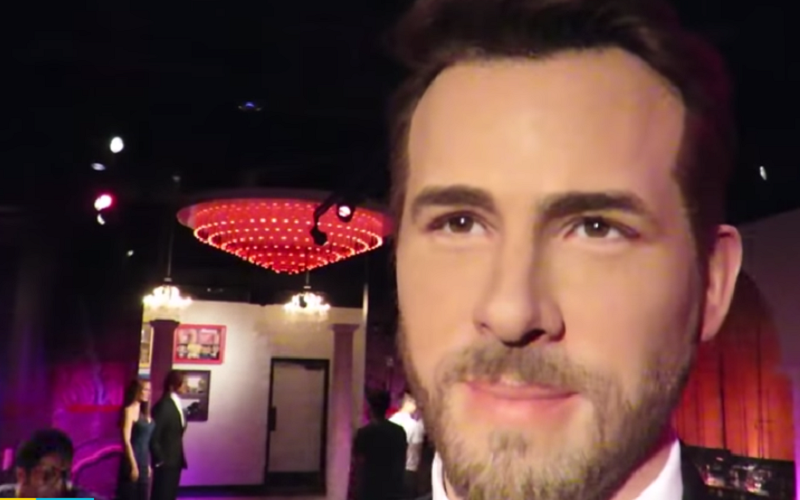 ryan reynolds wax figure