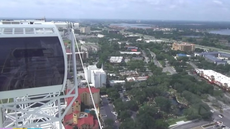 top of the orlando eye