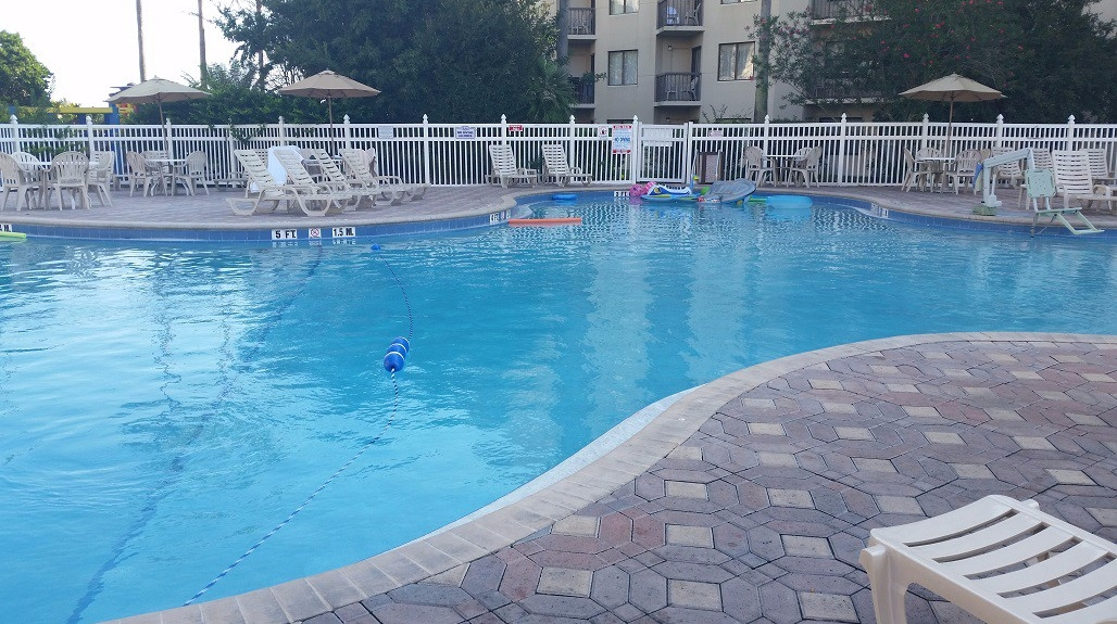 enclave main pool